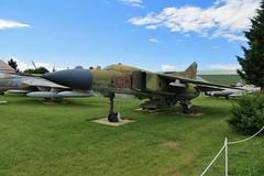 582 MiG-23MF @ Musée Européen de l'Aviation de Chasse 15th June 2016 (_Illusion450_) Tags: aérodromedancone montélimar muséeeuropéendelaviationdechasse 150616 museum lflq xmk aeroplane aviation avion aircraft airplane flugplatz 2003 582 mig23mf mig23