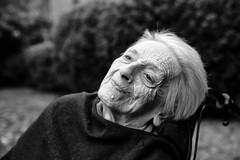 Dolcissima Maria (drugodragodiego) Tags: mother madre mamma woman donna blackandwhite blackwhite bw biancoenero portrait ritratto pentax pentaxk1 k1 pentaxdfa2470mmf28 hdpentaxdfa2470mmf28edsdmwr pentaxiani