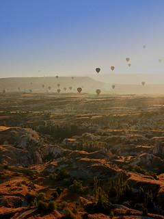 Cappadocia - Kappadokien - from above