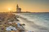 Paard van Marken (a3aanw) Tags: hdr lighthouse nikongebruikersgroep vuurtoren zonsopgang landschap lanscape paardvanmarken sunrise triggertrap
