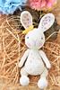 Easter candy bunny (lilleliis) Tags: crochet amigurumi animal kids bunny rabbit cotton softies lilleliis dots candy plush easter