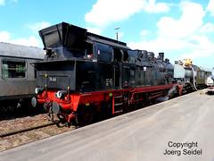 DE-35066 Frankenberg/Eder Bahnfest Kurhessenbahn Dampflok 78 468 im September 2015 (Joerg Seidel) Tags: frankenbergeder korbach hessen kurhessenbahn dampflok steam steamtrain baureihe78 eisenbahntradition