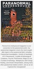 CoverPictureUPMOct2017 (bjarne.winkler) Tags: paranormal underground october 2017 issue 10 magazine cover photo preston castle by bjarne winkler