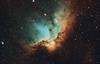 Wizard Nebula - NGC 7380 (Manifest Stephanie) Tags: dark night sky nebula wizard ngc7380 cloud break optics seattle astrodon narrowband astrophotography deep