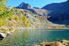Lago Mognola , 2005 m (dino_x) Tags: panorama landscape mountains alpi alps switzerland lago lake water acqua montagna allaperto nature riflessi reflections paesaggio roccia neve ghiaccio autumn autunno