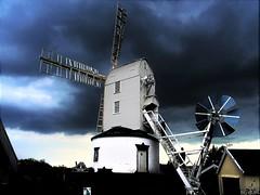 Saxtead Green, Suffolk (flicky@flickr) Tags: saxteadgreen suffolk windmill post mill