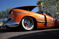(ONE/MILLION) Tags: cruise central avenue downtown phoenix arizona city streets old muscle hot rods cars antique colorful williestark onemillion chevrolet ford trucks corvette flames paint hurst vacation travel tours events rod belair red chevy white walls exhibit custom car auto show on history pickup gmc jeep jeepster willy