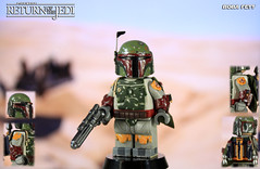 Custom LEGO Star Wars: Return of the Jedi | Boba Fett (LegoMatic9) Tags: custom lego star wars return jedi boba fett mandalorian minifigure