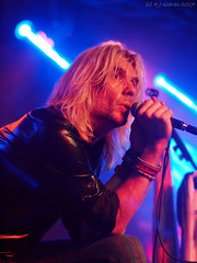 Oliver Rüsing of Karibow (ExeDave) Tags: pa076299 oliverrüsing vocalist guitarist karibow summersend progressive rock festival xiii 2017 the drillhall chepstow wales monmouthshire gb uk casgwent