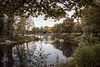 Autumn in the Park (17481) [Explore] (jonathanclark) Tags: autumn fall lake water park public tree leaves reflection victoriapark belfast belfastharbourestate northernireland nature