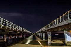 Barwon Heads Bridges-1 (Quick Shot Photos) Tags: barwonheads canon night oceangrove astro victoria australia twinbridges bridges leadinglinesbarwonheadscanonnightoceangroveastrovictoriaaustraliaau