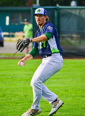 Parker Dunshee (g.bessette928) Tags: mahoning valley scrappers mahoningvalleyscrappers cleveland indians clevelandindians centennial field centennialfield oakland athletics oaklandathletics as vermontlakemonsters vermont lake monsters baseball new yorkpenn league newyorkpennleague playoffs 2017