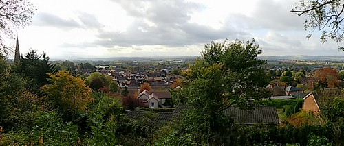 Ledbury - from the hillside