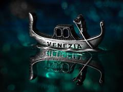 Venice in the night - Macro Mondays - Souvenir (Luana 0201 - no comment till January) Tags: venice venezia boat night macromondays souvenir reflection italy water bokeh