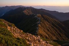 Omoteginza (bamboo_sasa) Tags: 大天井岳 北アルプス 安曇野市 燕岳 表銀座 日本 長野 信州 山 otenshodake tsubakurodake azumino nagano shinshu japan northen alps morgenrot omoteginza mountain