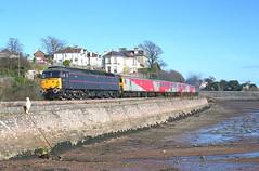 47799 Teignmouth (NB Railways) Tags: 47799 class47 brushtype4 brushfour teignmouth devon england 1z14 testtrain sercotesttrain westofenglandmainline westernregion princehenry 47799princehenry