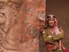 Petra 2017 (hunbille) Tags: birgittejordan62017lr jordan petra worldheritage royal tombs royaltombs beduin guard bedouin uniform cy2