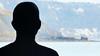 admiring the view (»alex«) Tags: antony gormley triennial art harbour arm silhouette headandshoulders view east cliff warren folkestone folkestonetriennial kent public sculpture