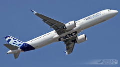 Airbus A321-271N D-AVXA (MSN 6673, A321NEO PW1000G Prototype) Airbus Industrie | Toulouse Blagnac TLS/LFBO (Horatiu Goanta Aviation Photography) Tags: airbus a321 a321neo a320neo a321200 neo a320family a320neofamily a321newengineoption newengineoption narrowbody sharklet singleaisle a321271nwl a321271n a321271 davxa msn6673 airbusindustrie firstprototype pw1000prototype airbusprototype prototype a321neosecondprototype pw1100g pw1133g pw1000g prattwhitneypw1000g prattwhitney gearedturbofan turbofan civilaviation commercialaviation aerospace airplane plane aviation aircraft flight wings jet passenger passengeraircraft passengerplane passengerjet jetairliner jetliner jetengine turbine turbojet highbypassturbofan bypassturbojet airbustestflight airbusfactorytestflight factorytestflight testflight airliner toulouse blagnac toulouseblagnac toulouseblagnacairport toulouseairport tls lfbo tlslfbo airport flughafen transport horatiugoanta planespotting planespotter airbusa321 airbus321