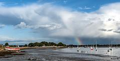_DSC5091 - Montsarrac - Golfe du Morbihan. (Jack-56) Tags: golfedumorbihan bretagne d700 nikon nikkor2470mmf28 ciel nuages montsarrac arcenciel