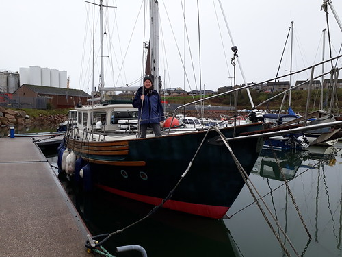 Elgar Ketch at Peterhead Marina