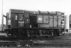 01921 08406 March Depot 26.07.1986 (31417) Tags: 08406 08 march