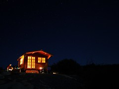 Night cabin. (isaacullah) Tags:
