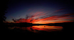 Sunrise (mleaflet) Tags: sunrise midsummer samyang fisheye suomi finland kalansilmä päijänne wideangle colorful auringonnousu fujifilm fujixt xt1 xseries 8mm