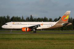 SX-SOF EDI 30-9-2017 (Plane Buddy) Tags: sxsof airbus a320 orange2fly norwegian d85510 edinburgh edi