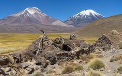 Caserio antiguo en Caquena (Andres Puiggros) Tags: heritage patrimonio caquena arica chile landscape ruinas ikon
