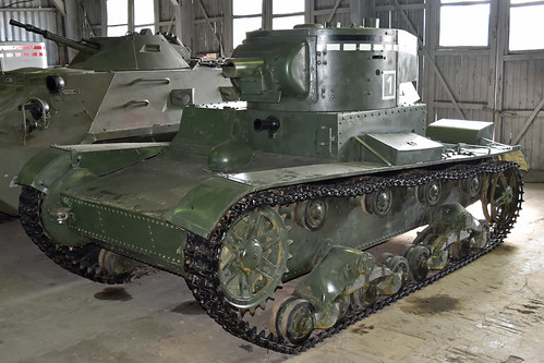 OT-130 Flame-Throwing Tank