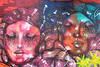 Andrew Freedman Home (KaDeWeGirl) Tags: newyorkcity bronx grandconcourse andrew freedman home mural woman color eyelashes street art grafitti panmela castro