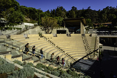 Six (Thad Zajdowicz) Tags: people women young candid outdoor outside amphitheater stairs color sky stone blue colour pacificpalisades ca zajdowicz california usa thegettyvilla gettyinspired canon eos 5dmarkiii dslr digital availablelight lightroom ef24105mmf4lisusm travel tree architecture