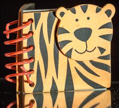 Tiger Spiral (SKAC32) Tags: macromondays canon100mmf28macro spiral tiger notepad