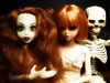 Surrealistic vision (Alkiyan) Tags: dolls surréaliste surrealistic belle once upon zombie lelia skeleton poupées dark
