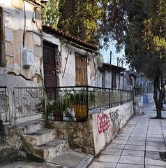 Slum near First Athens Cemetery (Phoenix Konstantin) Tags: greece athens slum sigma dp2m merill merrill foveon pointshoot