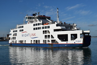 'St Clare' Wightlink Car Ferry