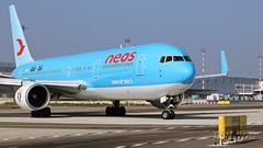 I-NDDL Neos Boeing 767-324(ER)(WL) (Nick Air Aviation Photography) Tags: img7040 inddlneosboeing767324erwl aviationphotography planespotting boeing767 neos