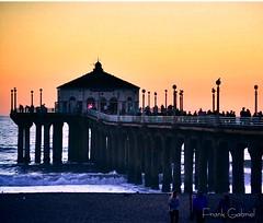 Manhattan Beach Pier (frank.garcia1978) Tags: sunsetcolors photography nikonphotography nikon sunsetlovers sunset beach california socal southbay losangeles manhattanbeachpier pier manhattanbeach