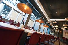 _DSC2085 (fdpdesign) Tags: pizzamaria pizzeria genova viacecchi foce italia italy design nikon d800 d200 furniture shopdesign industrial lampade arredo arredamento legno ferro abete tavoli sedie locali