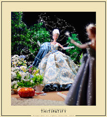 A dream is a wish your heart makes (thitipatify) Tags: silkstone studio sweet alta moda barbie fashion magazine ball vintage hollywood holidays diorama robertbest best robert love luxury glamour glam classic doll couture romantic