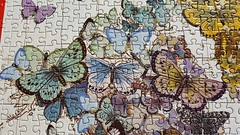 puzzling (Mamluke) Tags: puzzling puzzle pieces complete butterflies cabin mamluke