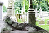 Sarcophagus (Marietta Dooley) Tags: cemetery tombstone gravestone nationalhistoriclandmark philadelphia laurelhillcemetery monument trees grass statue sarcophagus