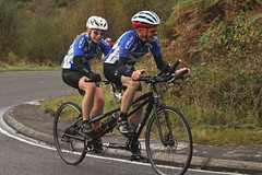 Tour de Trossachs, 2017. (Paris-Roubaix) Tags: grant baxter katy tandem tour de trossachs mountain time trial aberfoyle trialling dukes pass loch lomond national park scottish bicycle racing ivy cc