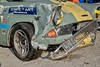 L19.25.30 - 71-klassen - 105 - Ford Anglia - John Bruun - skadet, ryttergård - DSC_0757_Balancer (Lav Ulv) Tags: classiccar classicracing racingcar racing trackracer trackrace streetcircuit streetracing streettrack tangkrogen paddocks 1971class pkwklassiker pkw craa ford anglia fordanglia 105e 106e 1967 johnbruun wreckedcar wreckedracer wreck crashed accidentdamage unfall unfallauto uheld skade skadetbil damage crash carwreck auto bil vehicle køretøj aarhus denmark motoringevent motorløb motorsport danmark dänemark kaputt schade sad trist