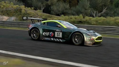 Aston Martin V12 Vantage GT3 @ Dragon Trail - Seaside