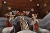 Oxelaëre, Nord, Flandre, Église St.-Martin, main altar, detail (groenling) Tags: oxelaëre nord flandre hautsdefrance france fr églisestmartin altar autel apse apsis angel ange angelot cherub mmiia cornetto zink shawm chalumeau