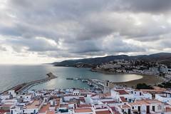 Panorámica Peñiscola (jm.guarinos) Tags: castillo peñiscola spain playa puerto mar cielo viajar turismo