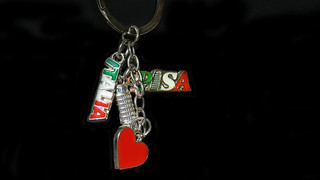 keychain - Souvenir from Italy