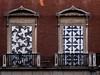 ... Dos ( Tres ) ... (Lanpernas .) Tags: balcón balcony escher palaciodegaviria ventanales grabados arte street expo matemática madrid art